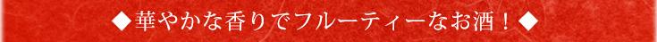 「日本酒 初心者 入門酒」 華やかな香りでフルーティーなお酒!