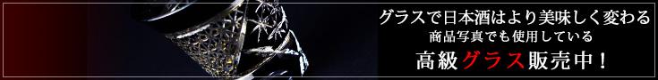 日本酒 高級グラス 通販 八千代切子 墨色 杯 竹垣柄LSB19755SBK-C638