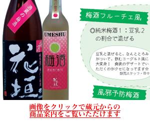 花垣 純米梅酒