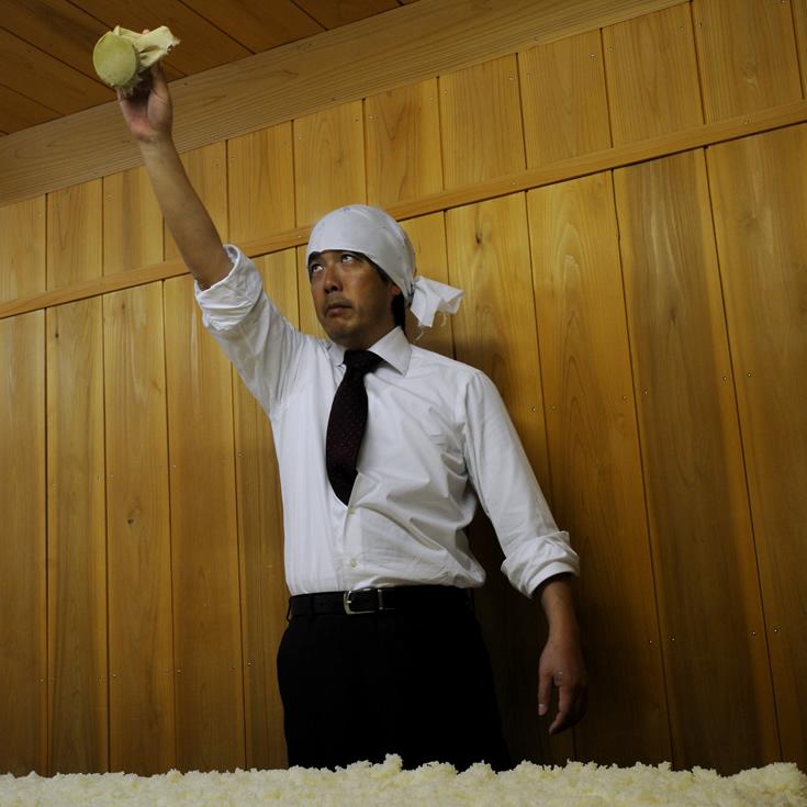 羽根屋(はねや) 富美菊酒造 麹室 佐野吾郎