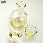 【箱入】高瀬川 琥珀 冷酒セット G604-M72
