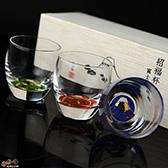 【木箱入】富士見松竹梅 杯3種揃え G086-T238