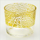 江戸硝子 金玻璃(きんはり) 冷酒杯純米(天空) 10891