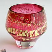 江戸硝子 紅玻璃(べにはり) 冷酒杯(純米酒) LS19610RAU