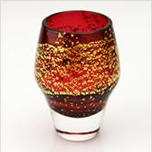 江戸硝子 紅玻璃(べにはり) 冷酒杯(吟醸酒) LS19611RAU