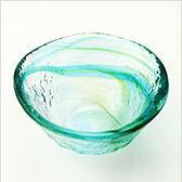和がらす ぐい呑 (緑) 42093