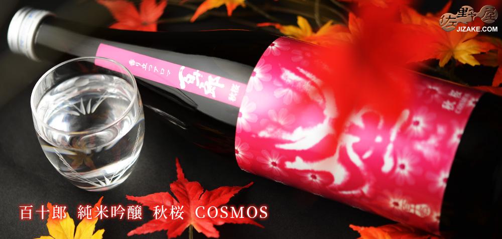 ◇百十郎 純米吟醸 秋桜 COSMOS(コスモス) 1800ml