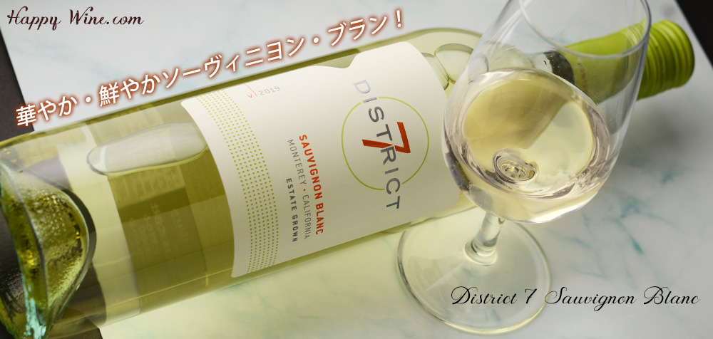 ディストリクト7 ソーヴィニヨン・ブラン(白)