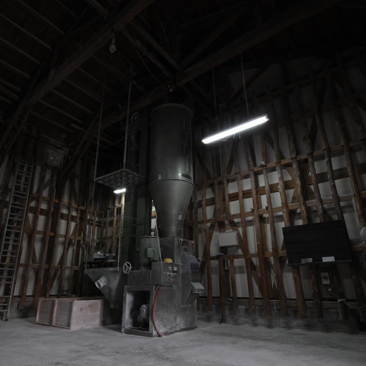 玉川(たまがわ) 木下酒造 精米機