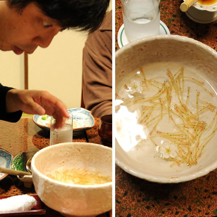 玉川(たまがわ) 木下酒造 佐野吾郎 おどり食い